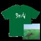 Logo T-Shirt + Bright Green Field