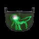 DJ Ocean Fibre Optic Mask