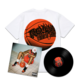 Flu Game LP + T-Shirt Bundle - White