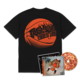 Flu Game CD (Signed) + T-Shirt Bundle - Black