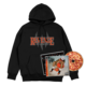Flu Game CD (Signed) + Hoodie Bundle - Black