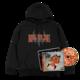 Flu Game CD (Signed) + Hoodie Bundle - Black