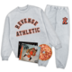 Flu Game CD (Signed) + Collegiate Tracksuit Bundle - Grey
