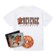 Flu Game CD (Signed) + Team T-Shirt Bundle - White