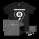 Vinyl, T-shirt & Badge