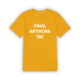 Yellow Charmed Life Tee Shirt