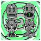Cyber Snake / Skrakken - Single
