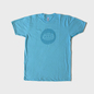 Aqua Warp Logo T-Shirt with Matt Print
