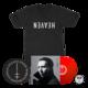 Deluxe Red Vinyl + Short Sleeve T-Shirt Bundle